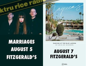Shoegazers/Marriages/Creepoid and Cayucas Giveaways