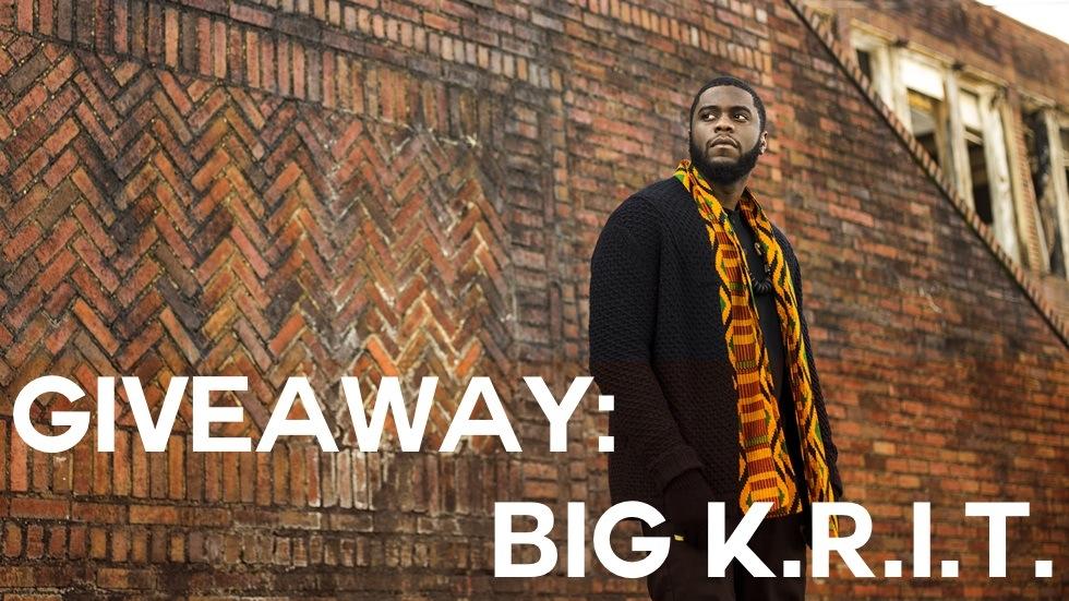 Big K.R.I.T.'s new album,Cadillactica, comes out Nov. 11