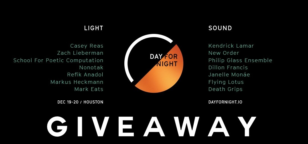 Day For Night Giveaway & Preview!