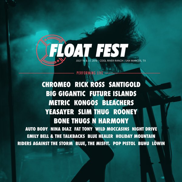 Float Fest Preview  (July 15, 12-2 PM)