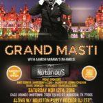 Mumbai's DJ Notorious in Houston on Sat 11/12/16, 10pm-2am @ Gage Lounge (midtown), Houston.